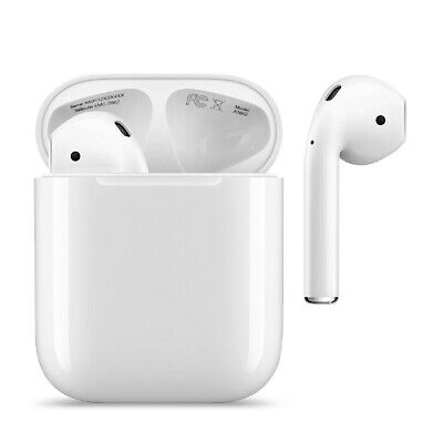 AU81.90 • Buy Apple AirPods 2nd Bluetooth Wireless Earbuds Headset Headphone W/ Charging Case