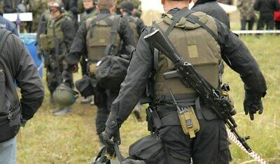 $299 • Buy Suit  MABUTA , Black, For Special Forces CSN FSB, ALPHA, VYMPEL.