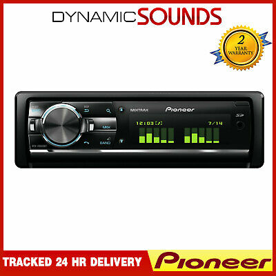 Pioneer Car Stereo CD RDS Tuner USB Aux Bluetooth IPod IPhone Android Mixtrax • 189.95£