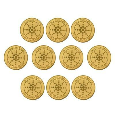 10X Energy Anti Radiation Shield EMF Protection Mobile Cell Phone Sticker • 7.15£