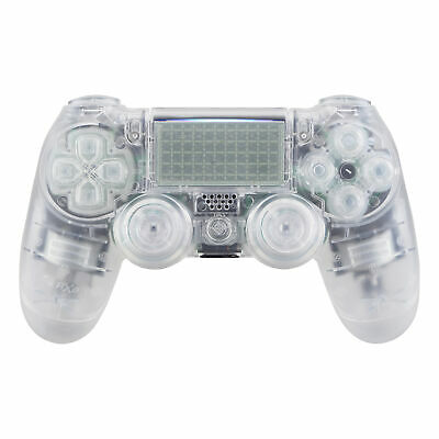 AU28.68 • Buy Clear Full Housing Shell Buttons Replacement Part For PS4 Pro Slim Controller