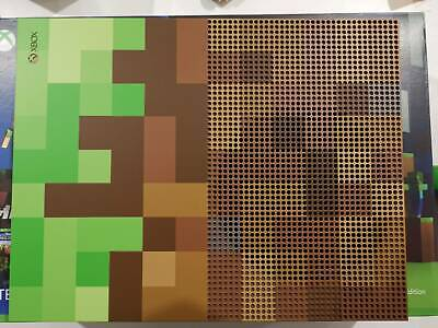 AU399 • Buy Xbox One S Minecraft Limited Edition - Mint Condition + 4 Games