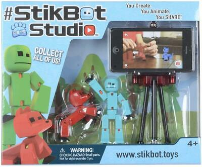 Stikbot Studio Pets Animation Set Create Stop Motion Video Figures Tripod 4+ NEW • 12.95£