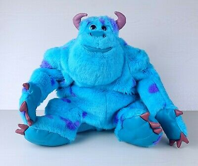Disney Pixar Monsters Inc Sully Large BACKPACK Plush Toy • 12.55£