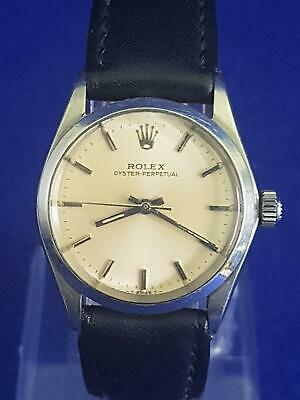 AU0.99 • Buy Rare 1964 Rolex Oyster Perpetual 6548 Cal 1161 26J Mid-Size Auto Wristwatch