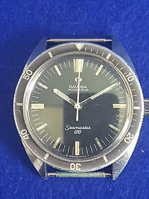 AU102.50 • Buy Collector's 1968 Omega Seamaster 120 Cal 552 24J Automatic Mvt Divers Watch