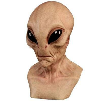 Halloween Alien Face Mask Cosplay Scary Masks Party Props Fancy Dress Costume • 12.69£