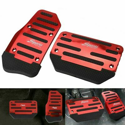 $11.99 • Buy [RED] Non-Slip Automatic Gas Brake Foot Pedal Pad Cover Car Accessories Parts