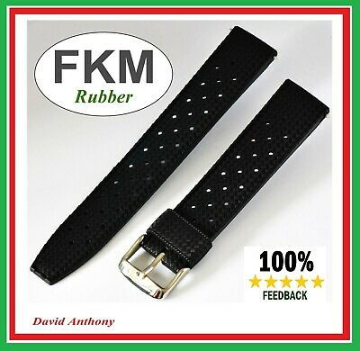 Compatible With SEIKO  TROPICAL  (VINTAGE) DIVERS RUBBER WATCH STRAP 20mm, 22mm • 19.95£