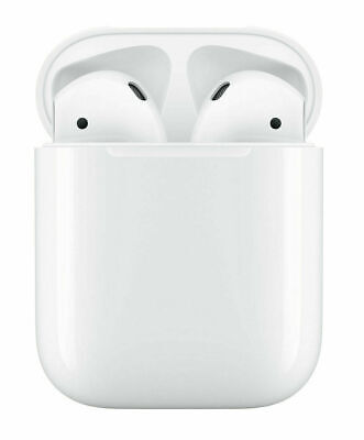 AU95.90 • Buy Apple AirPods 2nd Bluetooth Wireless Earbuds Headset Headphone + Charging Case