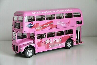 $ CDN340 • Buy Big Pink Sightseeing Routemaster Double Decker 1:24 Model By Sun Star - 4 Pack