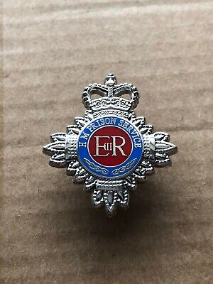 HMP HM Prison Service Pin Badge / 25mm Lapel Badge • 4.29£