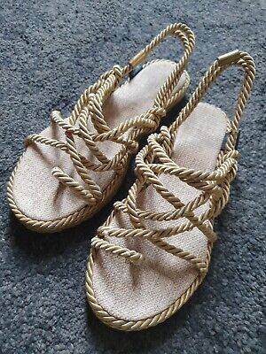 Nomadic Woven/Beach Rope Sandals Size 6 • 21£