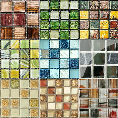 Kitchen Tile Stickers Bathroom Mosaic Sticker Self-adhesive Wall Home Decor . • 5.17£