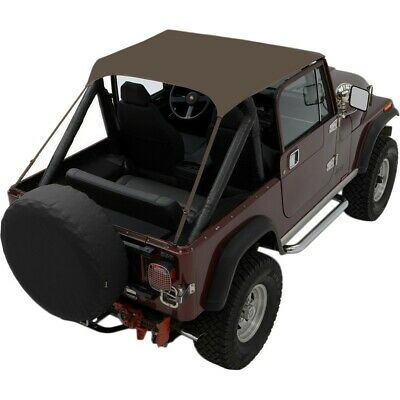 AU120.35 • Buy Bestop 52508-04 Summer Top For 1987-1991 Jeep Wrangler (YJ) 1976-1986 CJ7 Tan