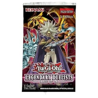 Legendary Duelists - Rage Of Ra - 1st Edition - 4x Sealed Booster Packs YuGiOh!  • 12£
