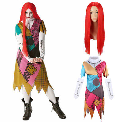 £26.44 • Buy Sally The Nightmare Before Christmas Costumes Adults Christmas Party Fancy Dress