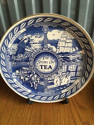 Ringtons 'The Story Of Tea' Exclusive Collectors Plate 1996. • 3£