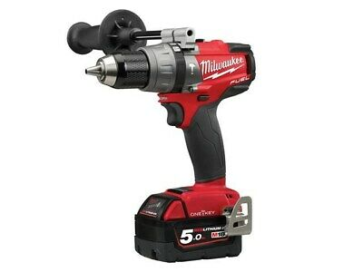 Milwaukee M18ONEPD2-502X 18v Fuel One-Key Combi Drill With 2 Batteries • 399.99£