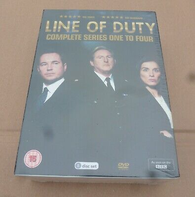 BRAND NEW SEALED Box Set LINE OF DUTY Series 1-4 Keeley Hawes, Daniel Mayes Etc • 11£