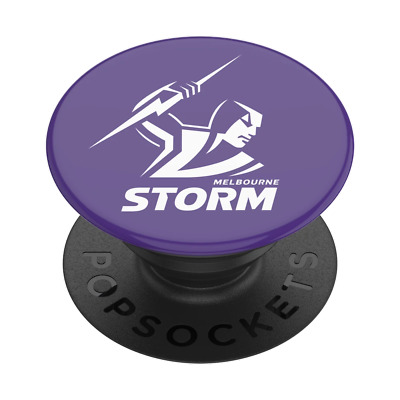 AU24.95 • Buy PopSockets NRL PopGrip: Swappable Grip For Phones & Tablets - Melbourne Storm