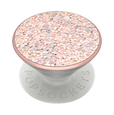 AU24.95 • Buy PopSockets PopGrip: Swappable Grip For Phones & Tablets - Sparkle Rose