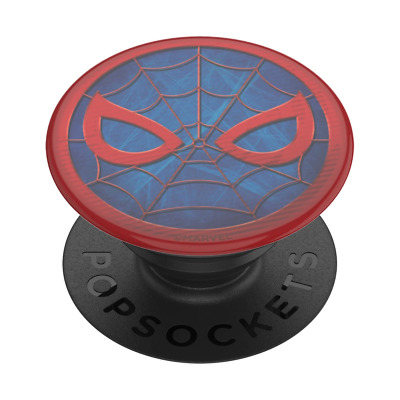 AU24.95 • Buy PopSockets PopGrip: Swappable Grip For Phones - Marvel Spider-Man Icon (Gloss)