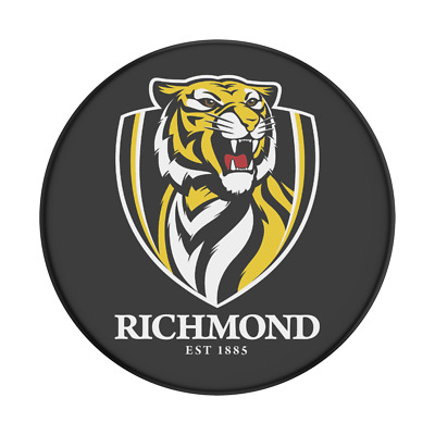 AU24.95 • Buy PopSockets AFL PopGrip: Swappable Grip For Phones -Richmond Tigers (Gloss)