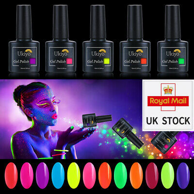 Belen 10ml Neon Summer Bright Colour Gel Nail Polish UV LED Varnish Lacquer  • 2.49£
