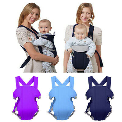 Adjustable Infant Baby Carrier Wrap Sling Hip Seat Newborn Backpack Ready Stock • 8.19£
