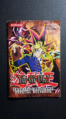 AU17.50 • Buy Yugioh Trading Card Game Official Rulebook AUS/NZ Edition Start Deck Kaiba 2001