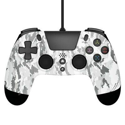 Playstation 4 & Pc Gioteck Vx4 Premium Wired Controller Game Pad Ps4 * Camo • 13.97£