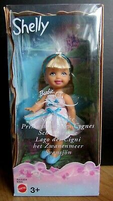 Shelly The Baby Swan Lake Barbie Sister  Nrfb - 2003 • 19.99£