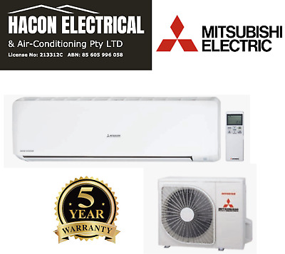 AU1479 • Buy MITSUBISHI 7.1kW BRONTE Split System Air Conditioner SRK71ZRA-W