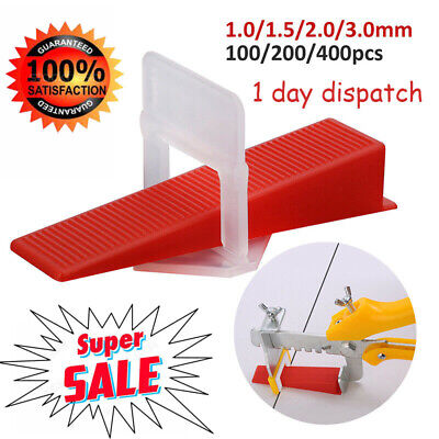 £16.48 • Buy UK 400 X Tile Leveling Spacer System Tool Clips Wedges Flooring Lippage Plier~