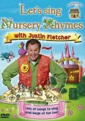 Let's Sing Nursery Rhymes With Justin Fletcher (DVD) New & Sealed • 3.48£