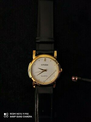 Citizen Quartz 23k Gold Plated Woman Watch. • 8£