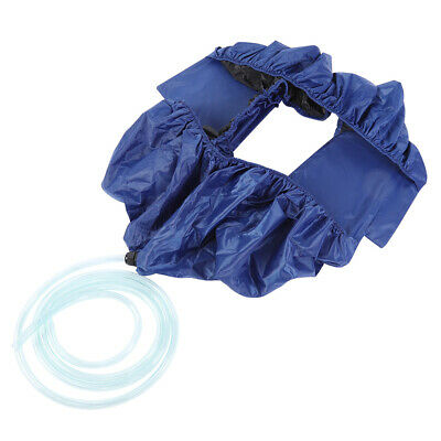 AU37.01 • Buy Air Conditioner Cleaning Cover Tool Waterproof Cleaner Bag Protector Blue