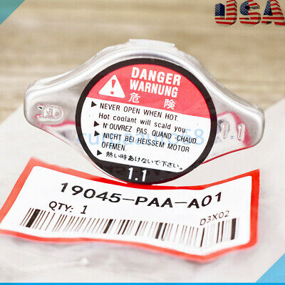 $7.99 • Buy Cooling Radiator Cap 19045-PAA-A01 Fit Honda Acura CL TL Accord Civic SIZE 1.1
