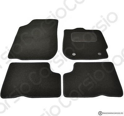 Dacia Duster 2013 To 2018 Tailored Carpet Car Floor Mats In Black 4pc Set • 11.85£
