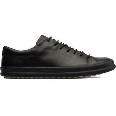£64.99 • Buy Camper Chasis Sport Hoops Mens Black Leather Lace Up Trainers Shoes Size UK 8-12