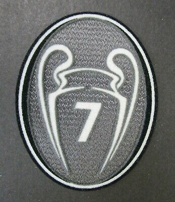 £12 • Buy UEFA CHAMPIONS LEAGUE 7x WINNERS PATCH = PLAYER SIZE