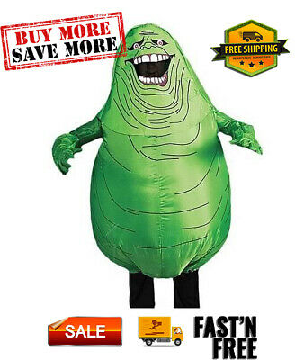 £35.22 • Buy Inflatable Slimer  Halloween Costume Silly Ghost With Battery Pack And Fan.
