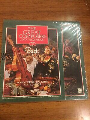 The Great Composers - 22 - Bach - Vinyl LP & Booklet  • 6£