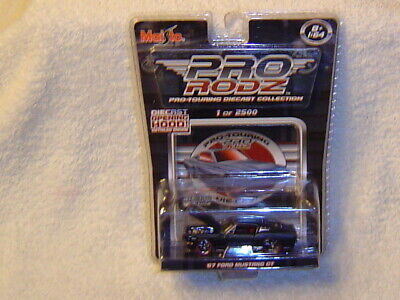 $13 • Buy Maisto Pro Rodz 67 Mustang Gt Chase 1/2500 Red Tires