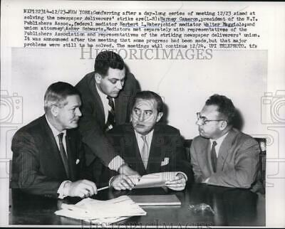$ CDN24.25 • Buy 1959 Press Photo Barney Cameron, Herbert Haber, Walter Maggiolo, Asher Schwartz