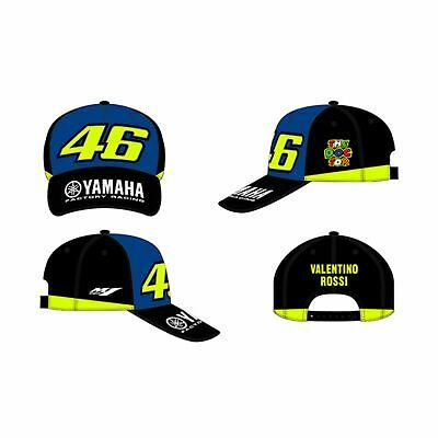 AU64.94 • Buy VR46 Valentino Rossi 46 Yamaha Adjustable Cap - Racing Blue Royal