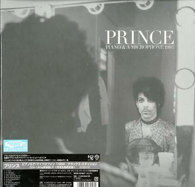 PRINCE-PIANO & A MICROPHONE 1983-IMPORT CD+LP+BOOK WITH JAPAN OBI Ltd/Ed M13 • 50.26£