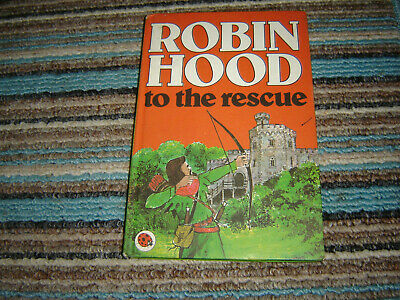 Vintage Ladybird Robin Hood To The Rescue Book Series 740 1978 • 3£