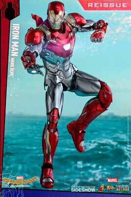 $ CDN556.22 • Buy Hot Toys Iron Man Mark XLVII 47 1:6 Scale Figure Spider-Man Homecoming Sideshow